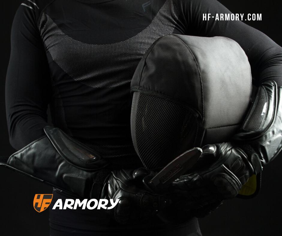 Тренировочная маска для HEMA фехтования или ножевого боя.